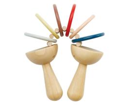 Plan Toys houten Klepperaar, Orchard