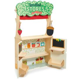 Winkel en poppenkast - Woodland - Tender Leaf Toys