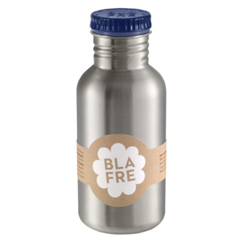 Blafre RVS drinkfles donkerblauw 500ml