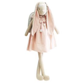 Alimrose Knuffel Konijn, Celeste Angel Bunny Pink Silver, 70 cm