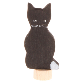 Grimm's Decoratiefiguur / Steker Kat