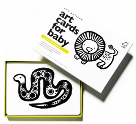Wee Gallery Kijkkaarten, Baby Art Cards Jungle