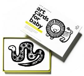Wee Gallery Kijkkaarten, Baby Art Cards Jungle