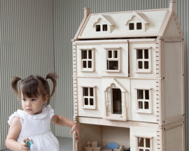 Plan Toys Extra Woonlaag voor Victoriaans Poppenhuis