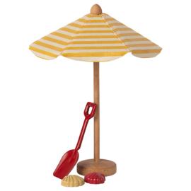 Maileg Strand Parasol, Beach Umbrella