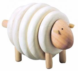 Plan Toys Houten Rijgschaap