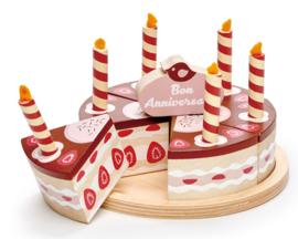 Verjaardagstaart Chocolade - Tender Leaf Toys