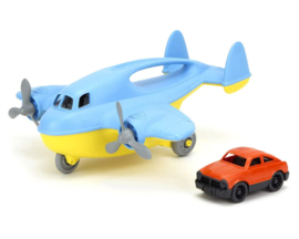 Green Toys Vrachtvliegtuig met auto 'Cargo Plane'
