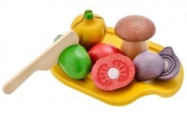 Plan Toys Houten Snijset Groenten