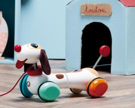 Vilac Houten Trekdier Hond 'Toutou'