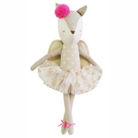 Alimrose Knuffel Hert, Merry Angel Linen Deer, 40 cm