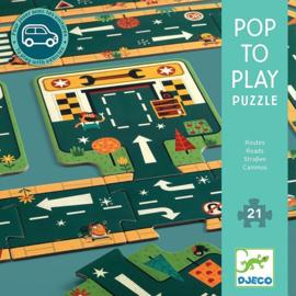 Djeco Pop to Play, Autoweg