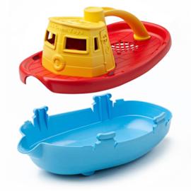 Green Toys Sleepboot Tugboat geel