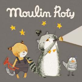 3 extra schijfjes voor Moulin Roty Verhaaltjeslamp, Les Moustaches