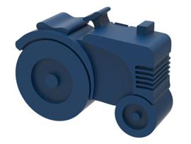 Blafre Lunchtrommel Tractor donkerblauw