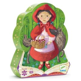 Djeco puzzel Roodkapje, 36 st, 62x20 cm