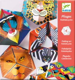 Djeco Origami Kaleidocycles Flexanimaux, 7+