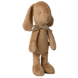 Maileg Knuffel Konijn, Soft bunny, Small Brown, 21 cm