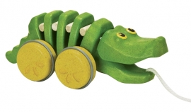 Plan Toys Trekdier Krokodil, Dancing Alligator