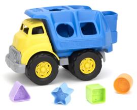 Green Toys Vormenstoof vrachtwagen 'Shape Sorter Truck'