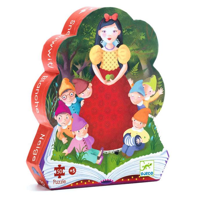Djeco puzzel Sneeuwwitje, 50 st, 62x20 cm