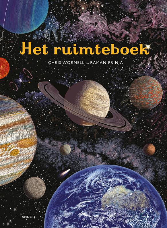 Het ruimteboek - Chris Wormell en Raman Prinja