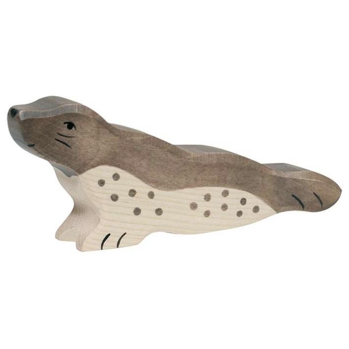 Holztiger Houten Zeehond