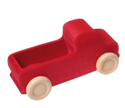 Grimm's houten vrachtwagen, Rood