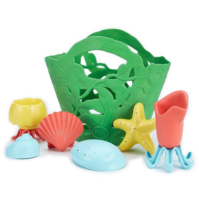Green Toys Strandset Zandbak speelgoed, rose (Gratis
