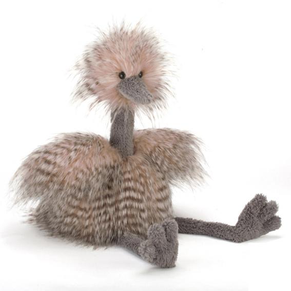 Knuffel Struisvogel, Odette Ostrich, Jellycat