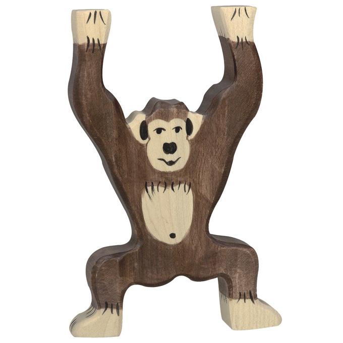 Holztiger Houten Chimpansee