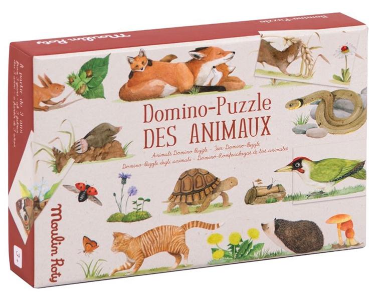 Moulin Roty Domino/Puzzel Dieren