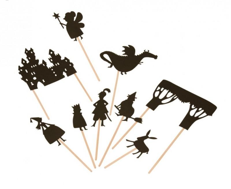 Moulin Roty Schaduwspel 'Sprookjes'