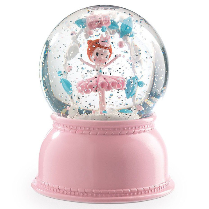 Djeco Nachtlampje Sneeuwbol Ballerina