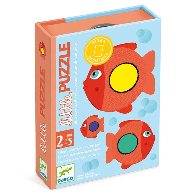 Djeco Peuter/Kleuter Kaartpel, Little Puzzle