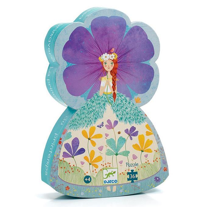 Djeco puzzel Bloemenprinses, 36 st, 42x30 cm