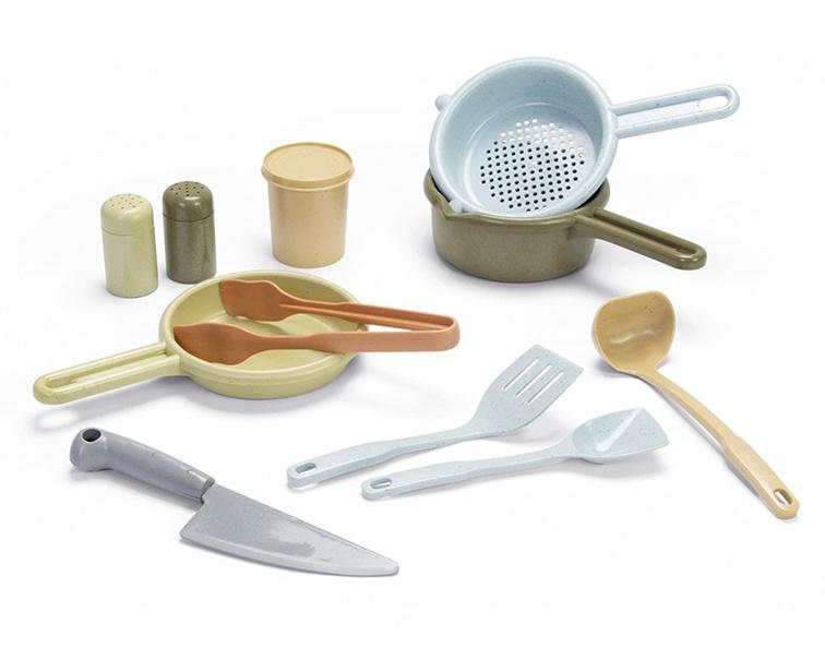 Dantoy Bioplastic Keuken Set, 12-Delig