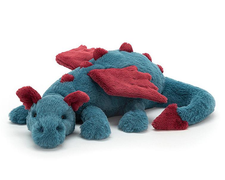 Jellycat Knuffel Draak, Dexter Dragon 50 cm