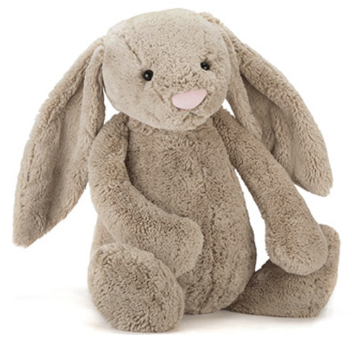Jellycat Knuffel Konijn 67cm, Bashful Bunny Beige Really Big