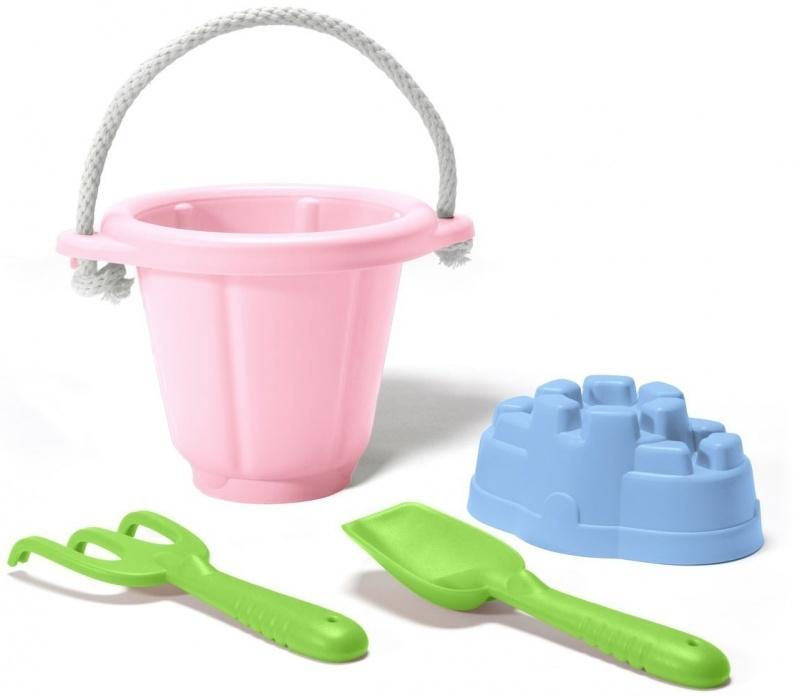 Green Toys Strandset / Zandbak speelgoed, rose