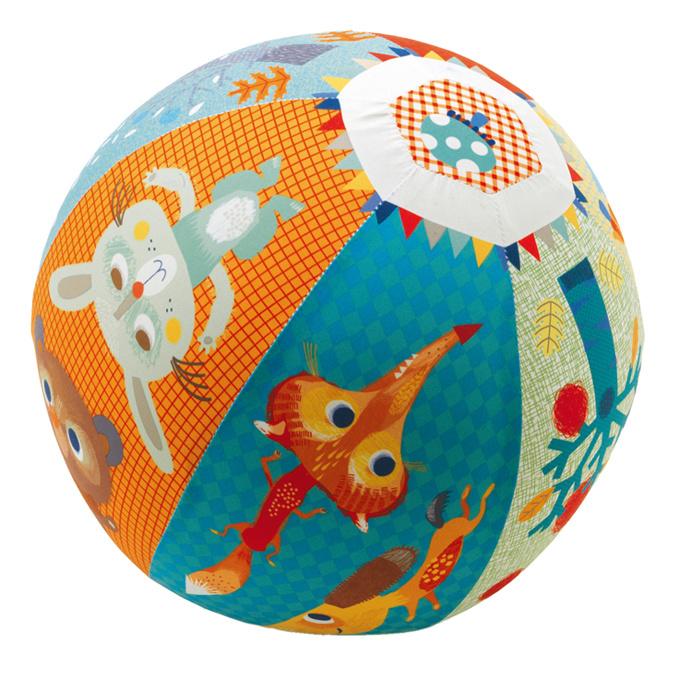 Djeco Stoffen Ballon Bal, Forest