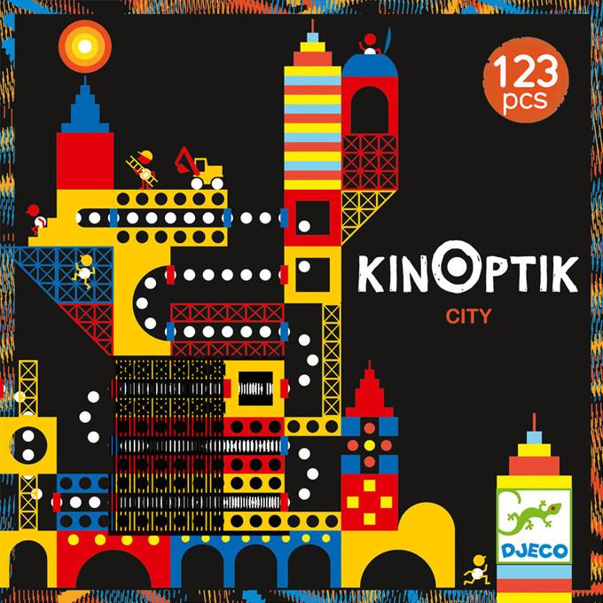 Djeco KINOPTIK Bouw en Animatie Set, Stad