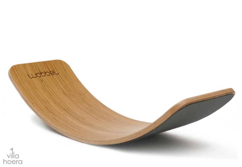 Wobbel original bamboe - vilt muis