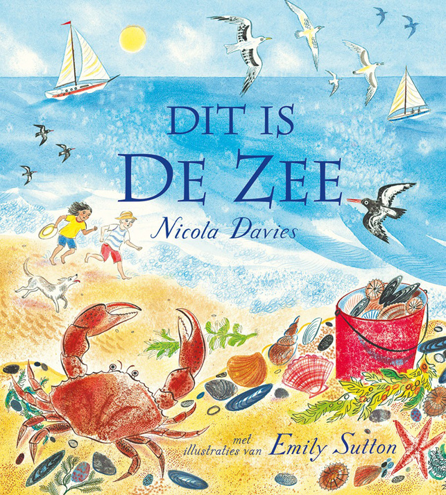 Dit is de zee - Nicola Davies - Christofoor