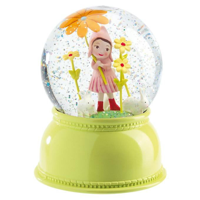 Djeco Nachtlampje Sneeuwbol Bloemenmeisje