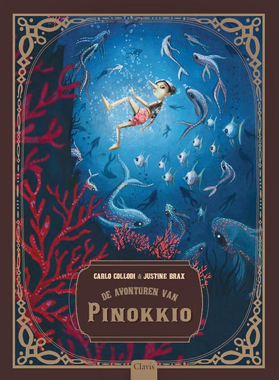 De avonturen van Pinokkio - Carlo Collodi en Justine Brax - Clavis