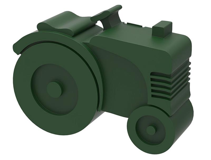 Blafre Lunchtrommel Tractor Groen