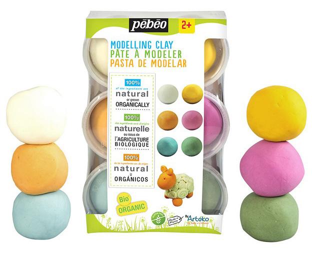 Pébéo Arteko Modelleer Klei, Mix - 6 kleuren x 90 gr.