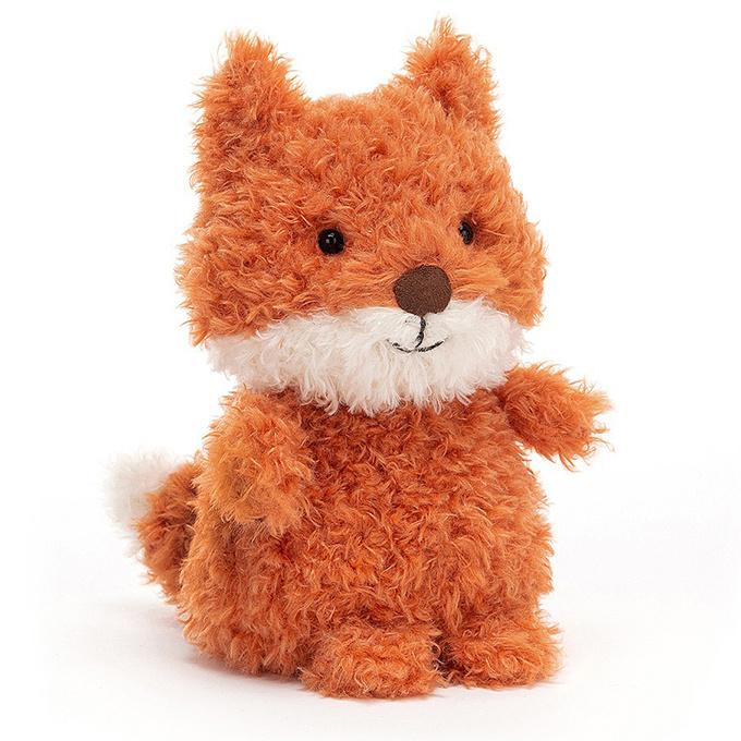 Jellycat Knuffel Vosje 18cm, Little Fox