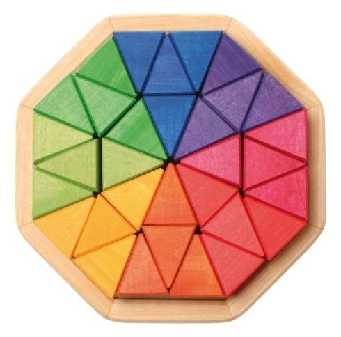 Grimm's houten puzzel Octagon